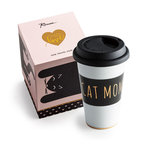 [로잔나] All You Need Is Love Commuter Mug Cat Mom