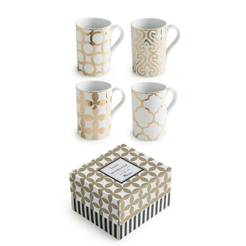 [로잔나] Luxe Moderne Mugs 4pcs/set